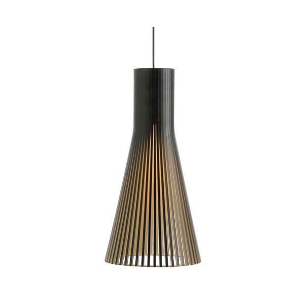 Závěsné svítidlo Secto 4200 Black, 60 cm
