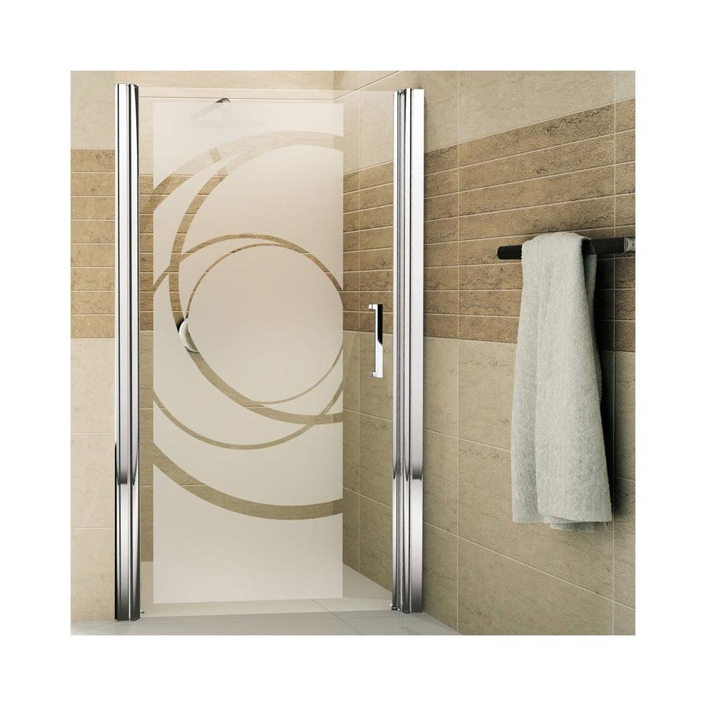 Matná nálepka na sklo do sprchového koutu Ambiance Design, výška 95 cm