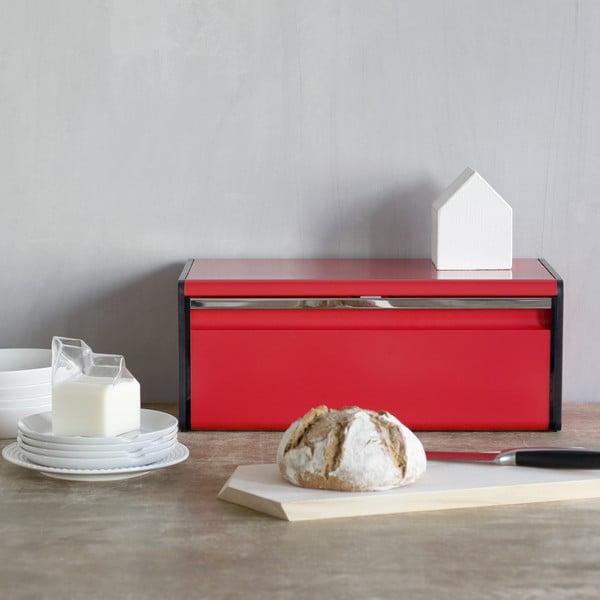Cutie pentru pâine Brabantia Fall Front, roșu