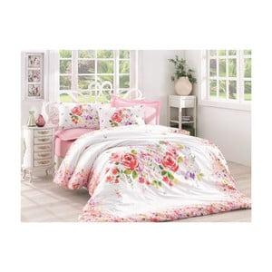 Lenjerie de pat cu cearșaf Helya Power, 200 x 220 cm