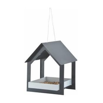 Căsuță pentru păsări Esschert Design, gri antracit imagine