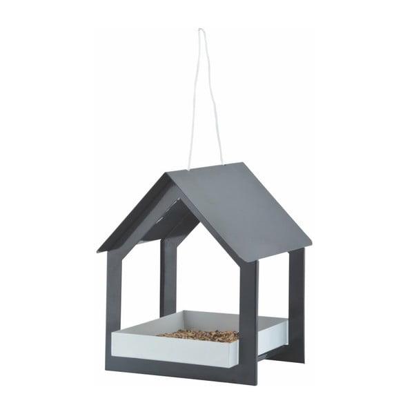 Căsuță pentru păsări Esschert Design, gri antracit