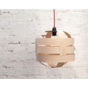 Ručně vyráběné světlo Lantern, jasan