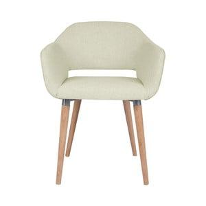 Krémová jídelní židle Cosmopolitan Design Napoli