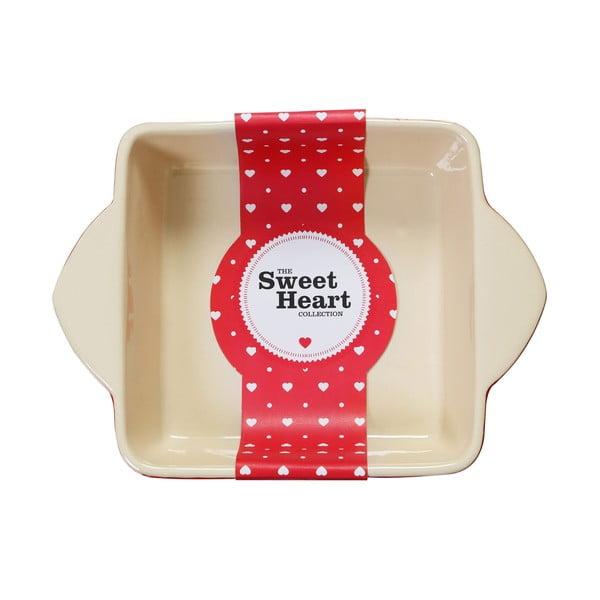 Tavă de copt Premier Housewares Sweet Heart, 22 x 31 cm