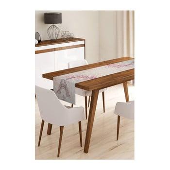 Napron din microfibră pentru masă Minimalist Cushion Covers Paris, 45x145cm imagine