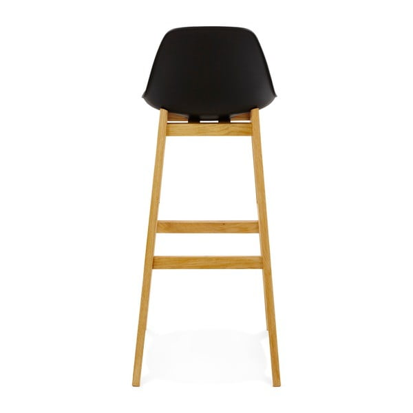 Černá barová židle Kokoon Elody, výška102cm