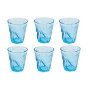 Sada 6 sklenic Kaleidos 200 ml, světle modrá