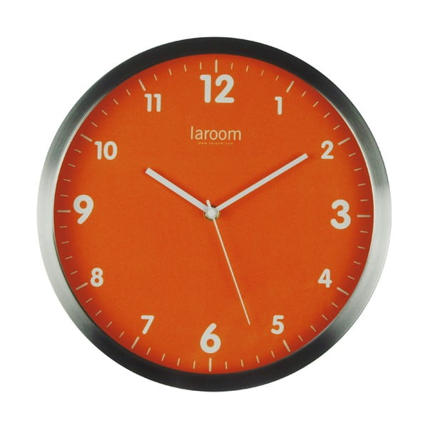 Nástěnné hodiny MInimal Orange