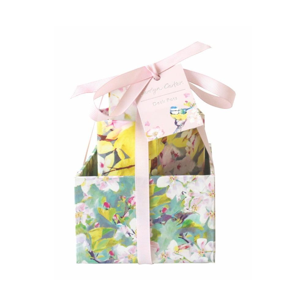 Sada 3 úložných boxů na stůl Portico Designs Gentle Nature