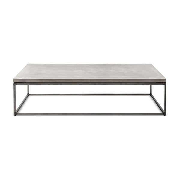 Betonový konferenční stůl Lyon Béton Perspective, 130 x 70 cm