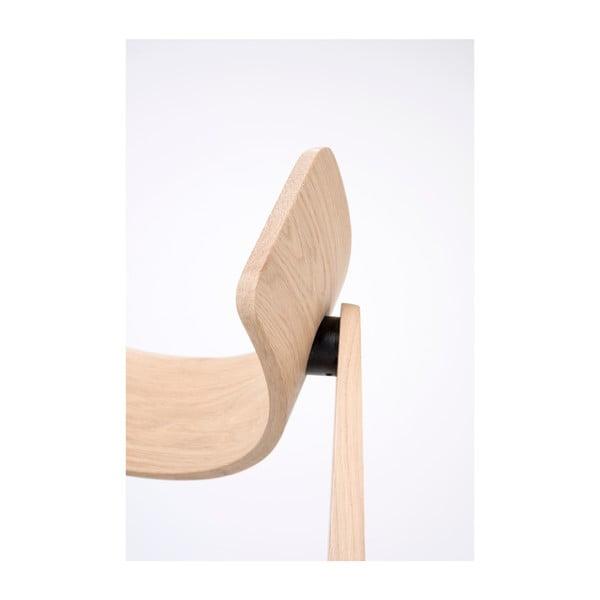 Jídelní židle z dubového dřeva Gazzda Nora