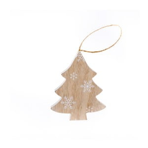 Dřevěný závěsný stromek Dakls Wonderland, 11 cm