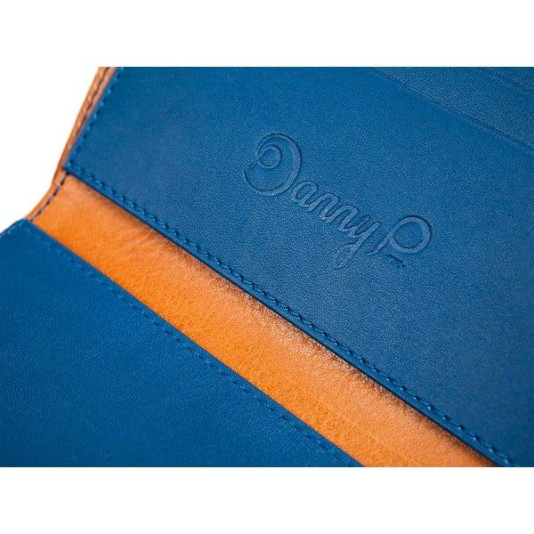 Danny P. kožená peněženka Pocket s kapsou na iPhone 5 Cognac