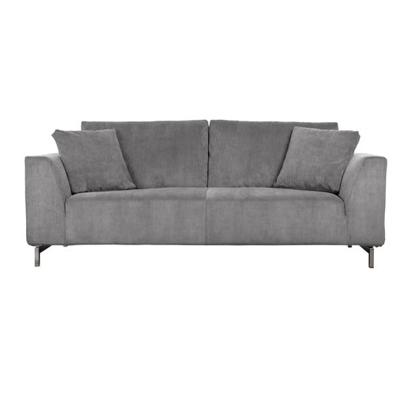 Canapea cu 3 locuri Zuiver Dragon, gri