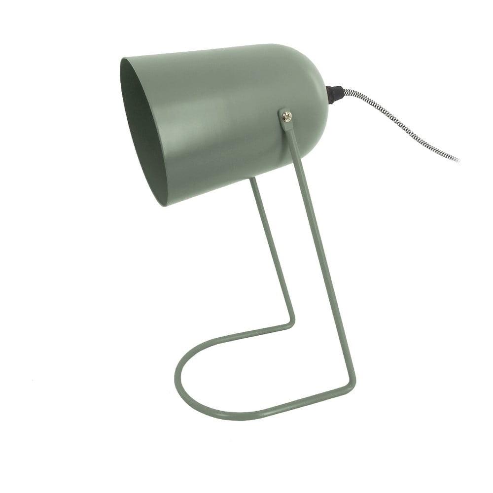 Zelená stolní lampa Leitmotiv Enchant