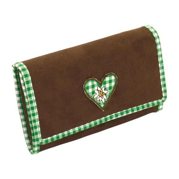 Dámská peněženka Bavaria Brown/Green