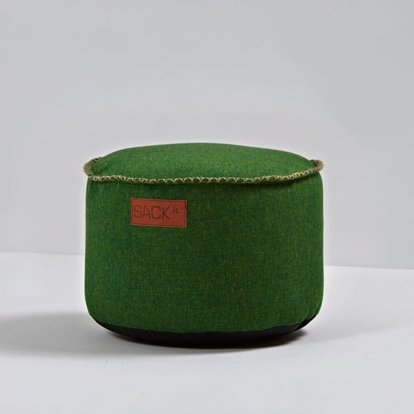 Puf RETROit Cobana Drum Green