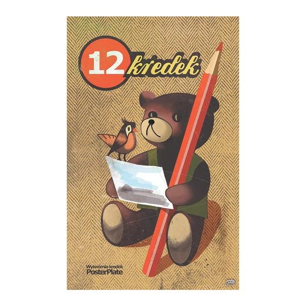 Cedule 12 Crayons