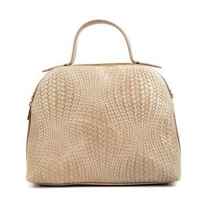 Růžovobéžová kožená kabelka Isabella Rhea Julia
