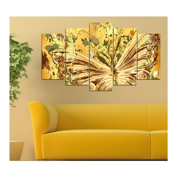 Vícedílný obraz Insigne Amarillo, 102x60cm