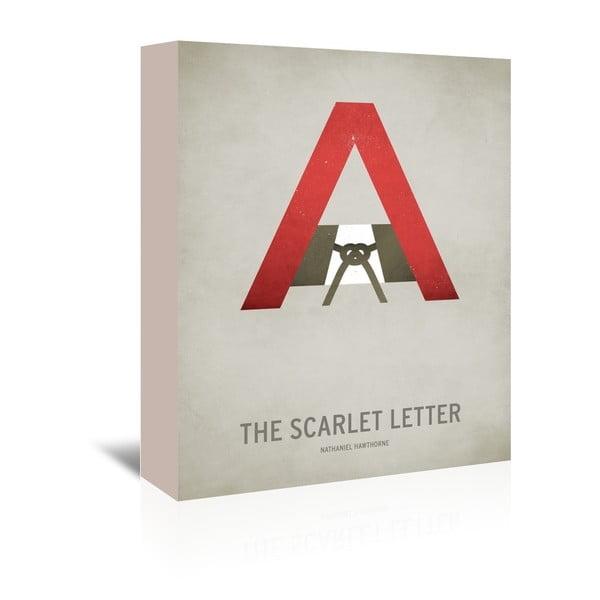 Obraz na plátně The Scarlet Letter od Christiana Jacksona
