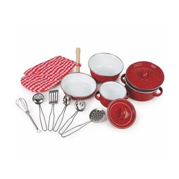 Set bucătărie pentru copii Legler Red de la Legler