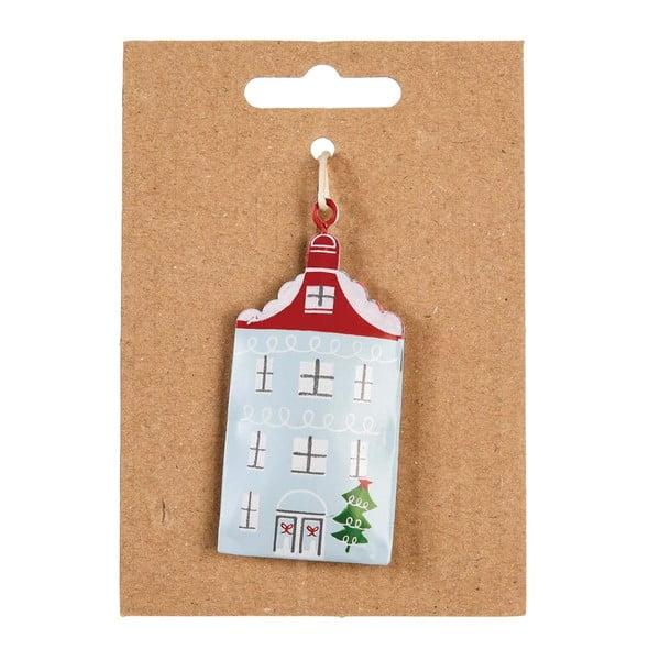 Decorațiune pictată manual pentru pomul de Crăciun Rex London House