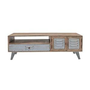 Televizní stolek z mangového dřeva Canett Leipzig