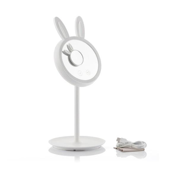 Bunny asztali nagyítós tükör, LED megvilágítással - InnovaGoods