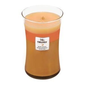 Lumânare parfumată  WoodWick Trilogia 609 g, ardere 130 ore