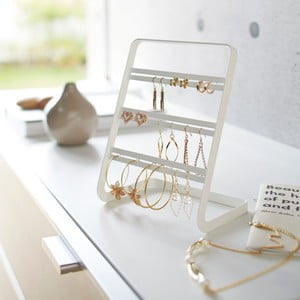 Suport pentru bijuterii Yamazaki Branch, alb