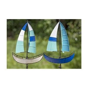 Set 2 decorațiuni pentru gradină Boltze Sailboat