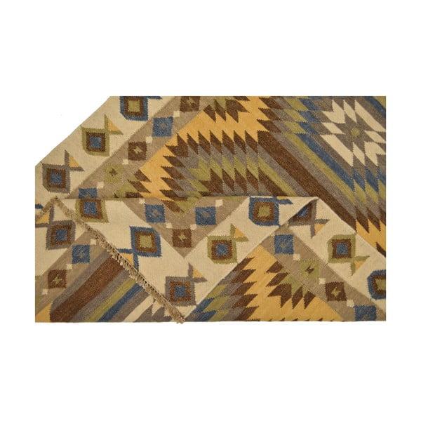 Ručně tkaný koberec Ethno Patterns, 140x200 cm