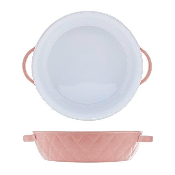 Růžový pekáček Diamond 27, 27 cm