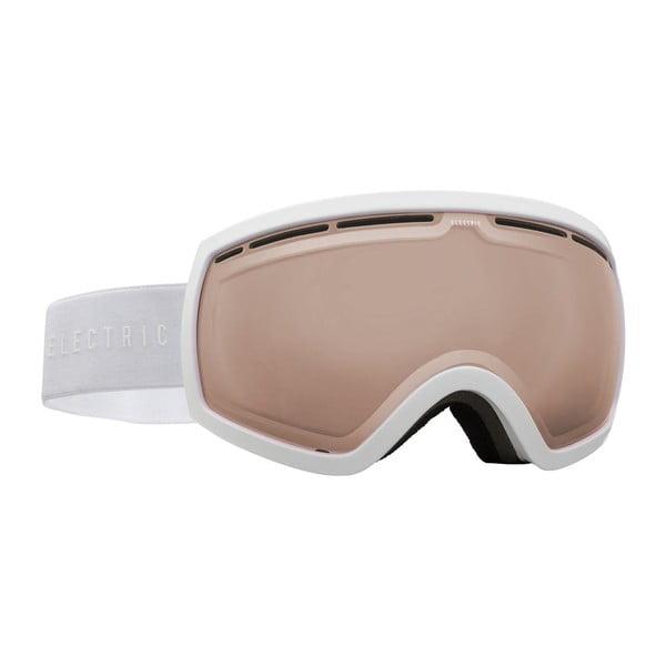 Dámské lyžařské brýle Electric EG25 Gloss White / Bronze, vel. M