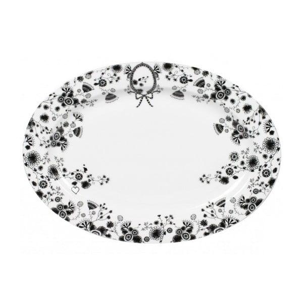 Podnos White Oval, 35x25 cm