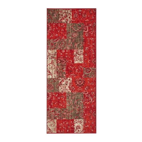 Červený běhoun Hanse Home Celebration Murro, 80 x 250 cm