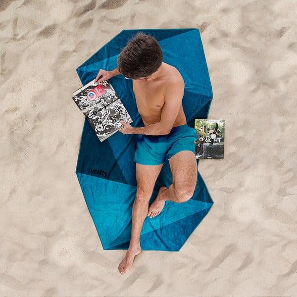 Designová plážová osuška Vertty Midnight Blue