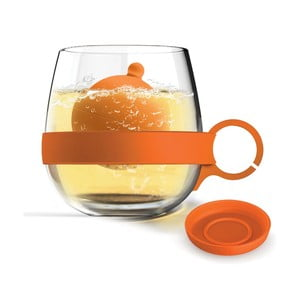 Hrnek Tea Ball, oranžový