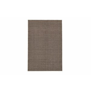 Ručně tkaný koberec Brown Retro Kilim, 110x153 cm