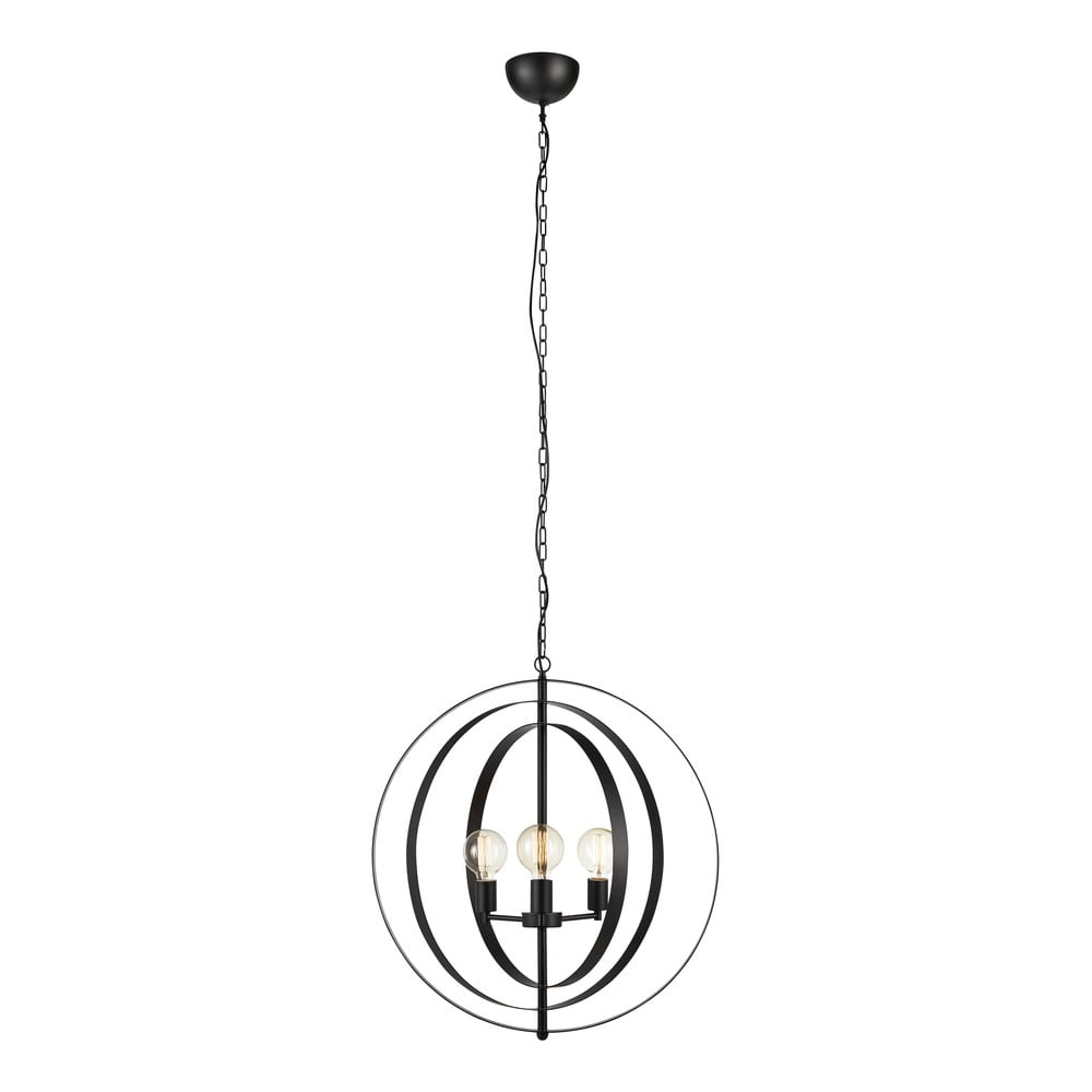 Závěsné svítidlo Markslöjd Orbit Pendant 3L Black