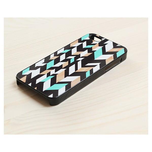 Obal na iPhone 4/4S, Mint&Wood in Black