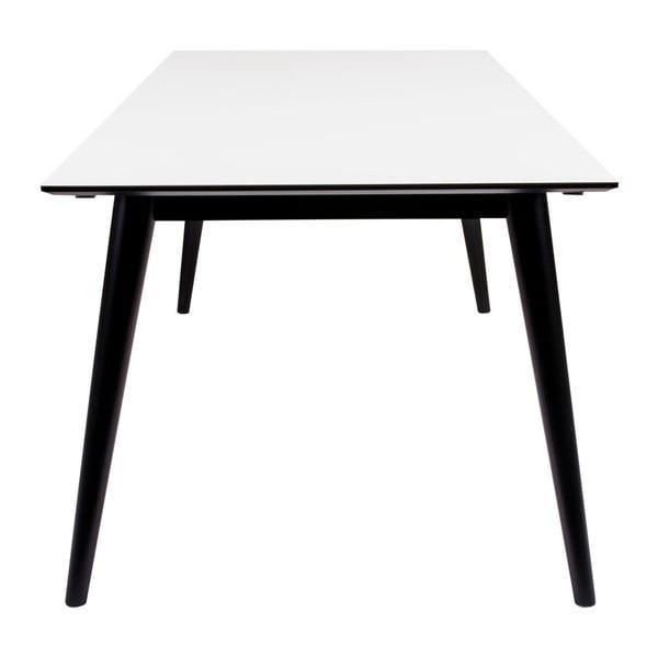 Rozkládací jídelní stůl s černými nohami House Nordic Copenhagen, 195 cm