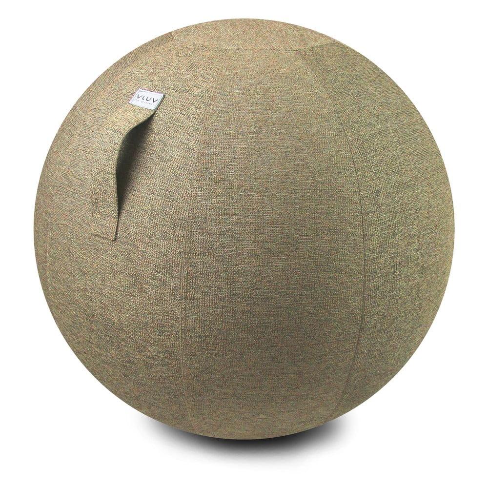 Béžový sedací míč VLUV, 65 cm