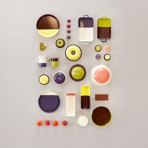 Miska, chocolate/pistachio, 22 cm