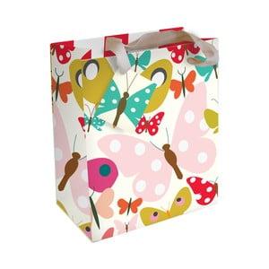 Dárková taška Caroline Gardner Butterflies & Flowers