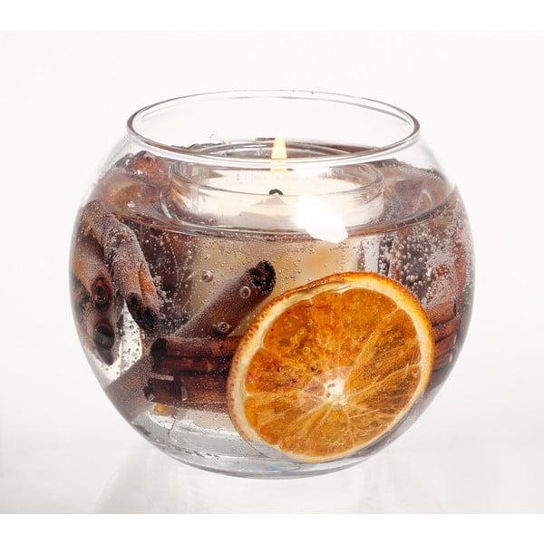 Kulatá svíčka Botanical, skořice a pomeranč