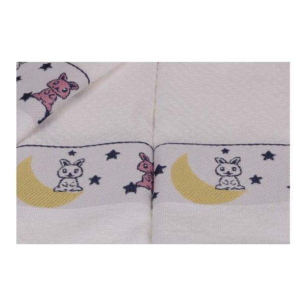Sada šesti dětských ručníků s motivem zajíčků Bunny