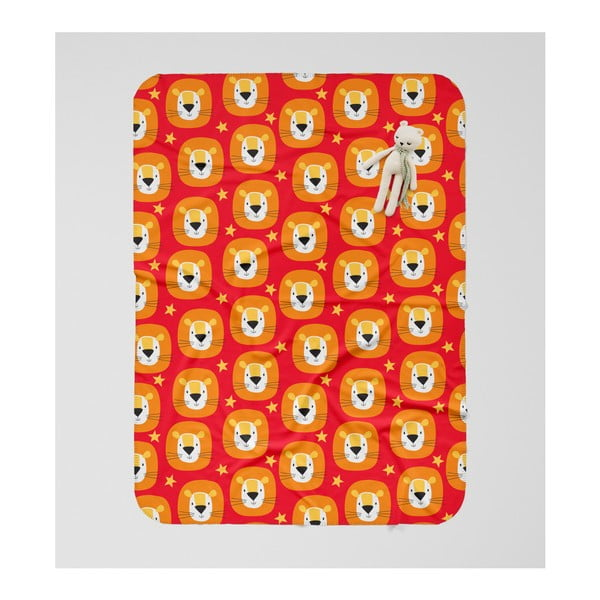 Detská deka OYO Kids Lion Adventures, 120 x 160 cm